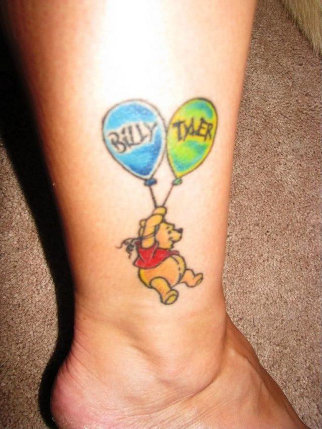 Tattoo ideas kids initials