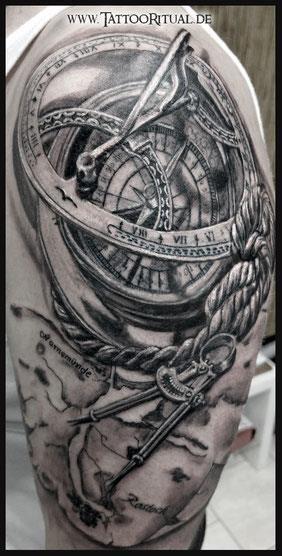 Tattoo sextant tattooritual tattoodoktor l%C3%BCbeck rostock tattoo maritim