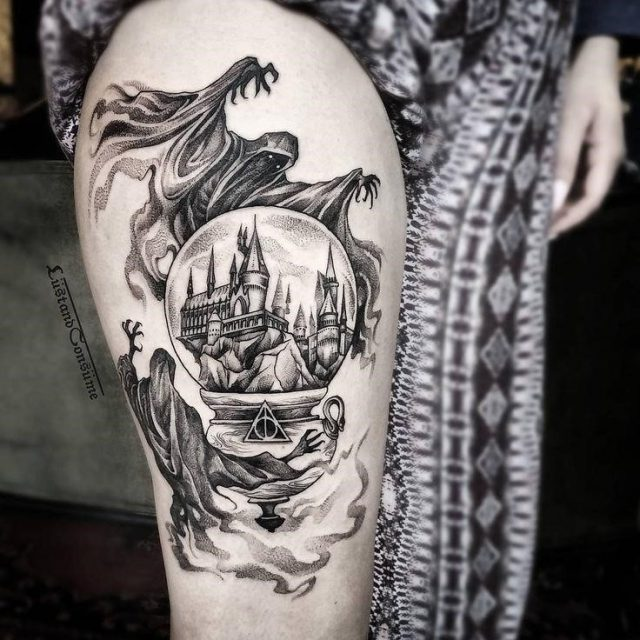Tattoo trends one of the best harry potter tattoos ive ever seen