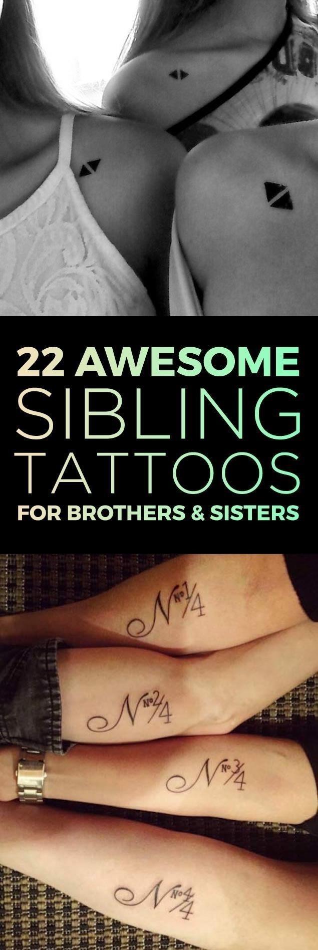 Tattooblend sibling tattoo desings