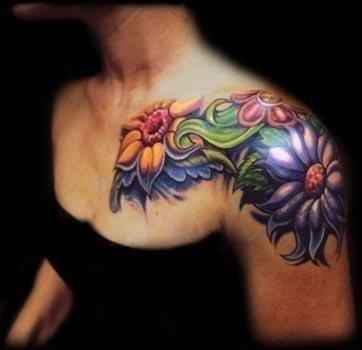 Tattoos flowers 12