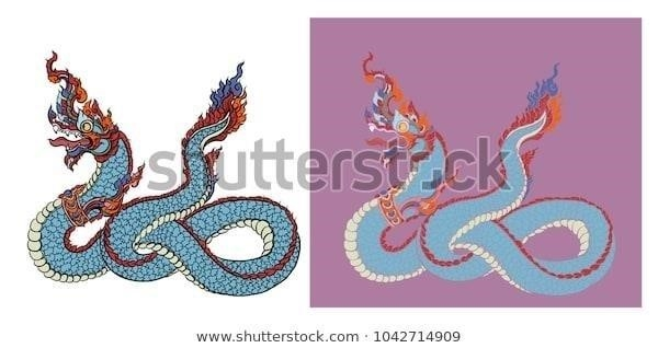 Thai traditional tattoo design naga 600w 1042714909