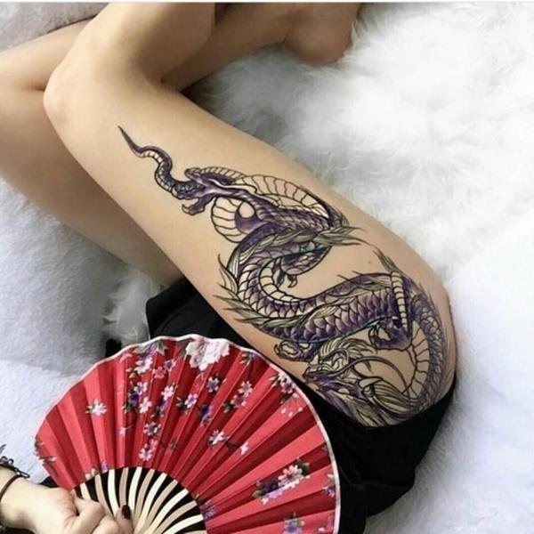 Thigh tattoo ideas 90