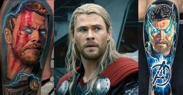 Thor tattoos fb