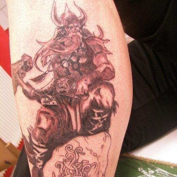 Thor viking tattoo