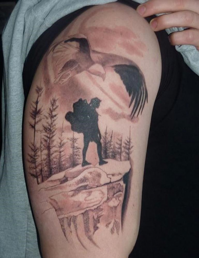 Travel tattoo 9