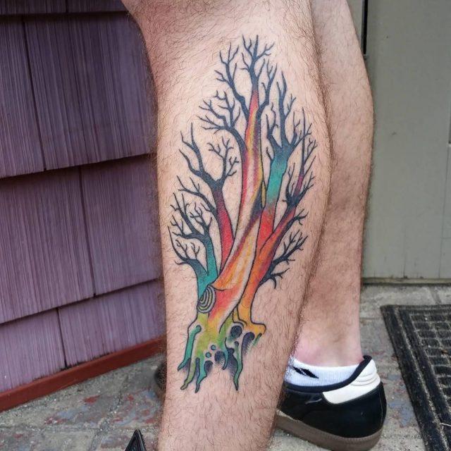 Tree tattoo 10