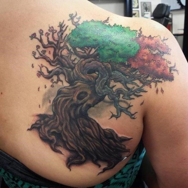 Tree tattoo 59 650×650