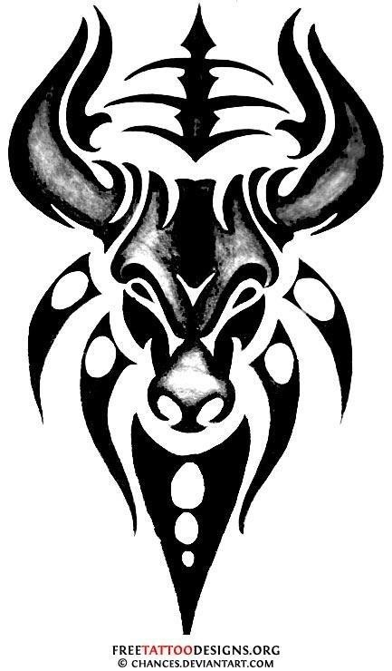 Tribal bull design