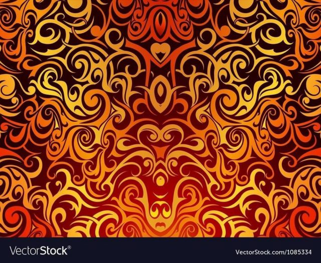 Tribal tattoo background vector 1085334