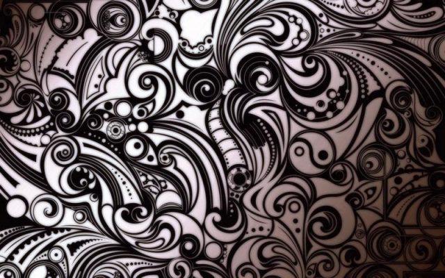 Tribal tattoo wallpaper