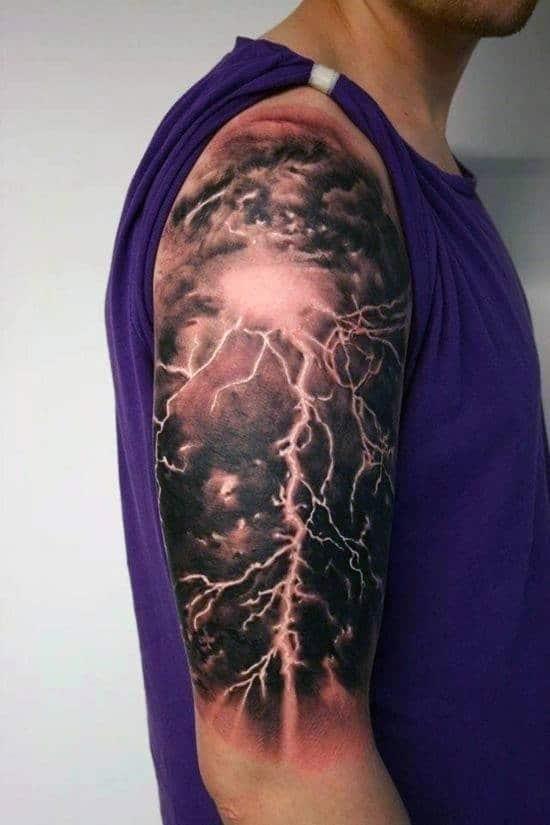 Tribal tattoos for mens arm