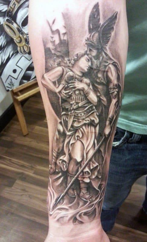 Tribal tattoos forearm