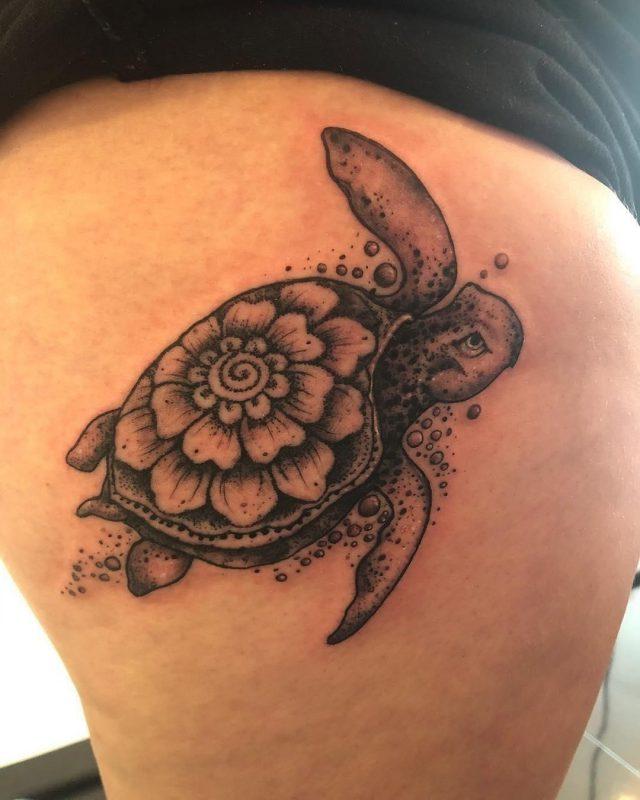 Turtle tattoo 15