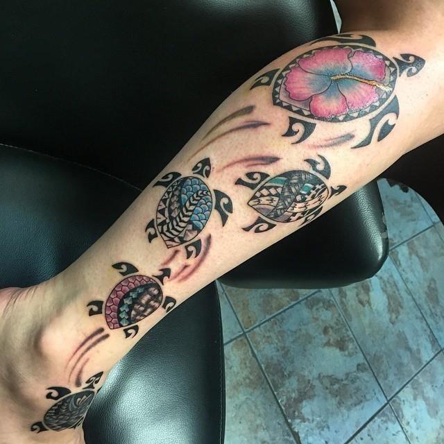Turtle tattoo 17