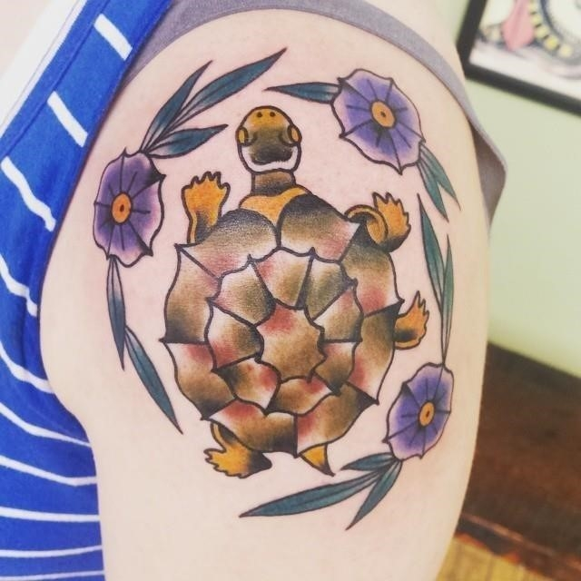 Turtle tattoo 33