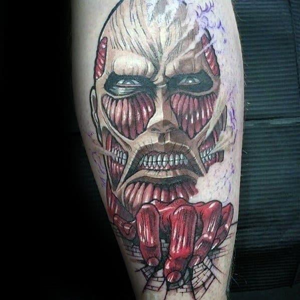 Unique mens anime tattoos