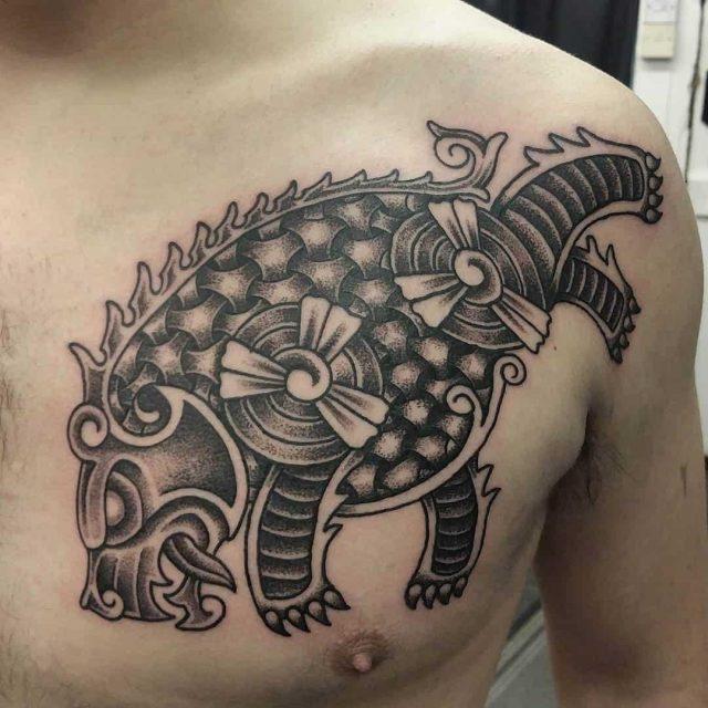 Viking bear tattoo 5