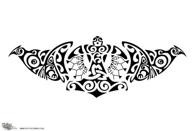 Viking maori protection tattoo