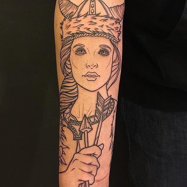 Viking tattoo 1