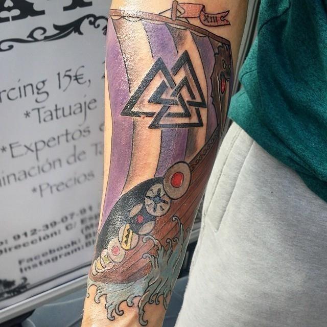 Viking tattoo 32
