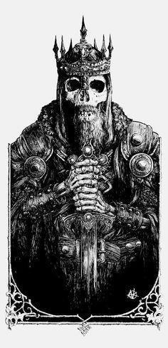 Viking tattoo on design