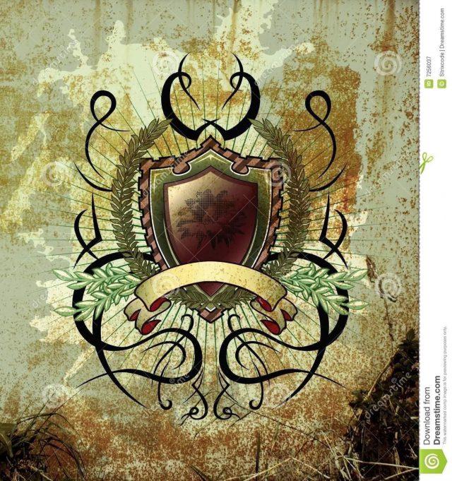 Vintage illustration tattoo elements 7256037