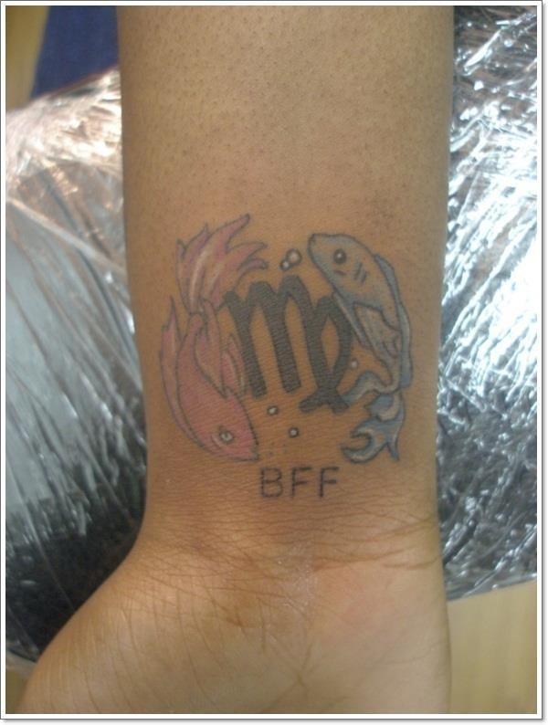 Virgo tattoo p
