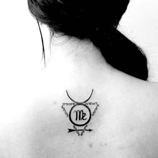 Virgo tattoos 28