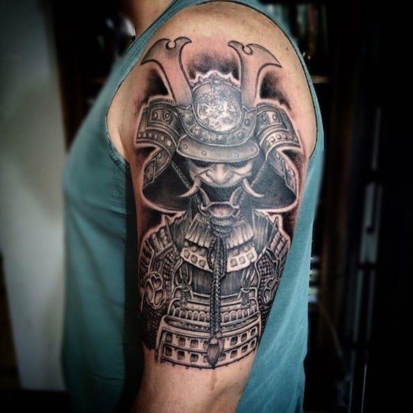 Warrior tattoo designs 58