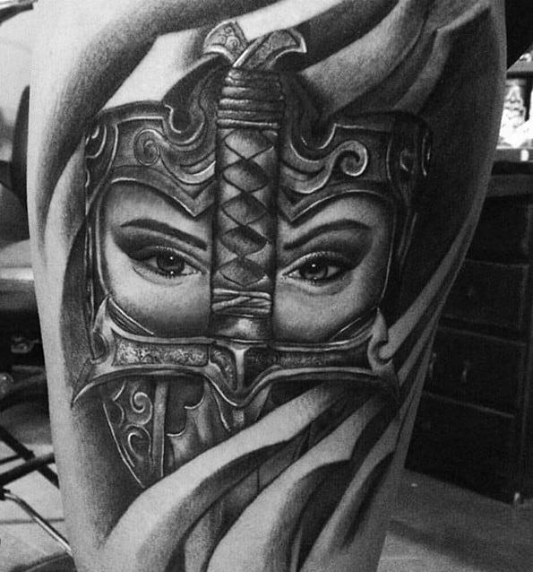 Warrior tattoo designs 87