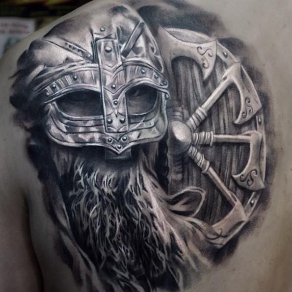 Warrior tattoo designs