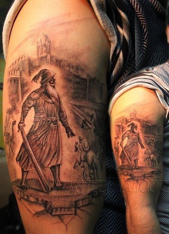 Warriors tattoo 2