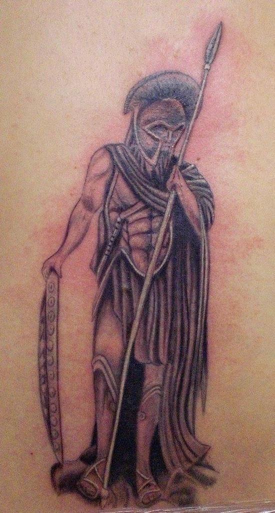 Warriors tattoo 21
