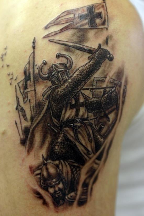 Warriors tattoo 4