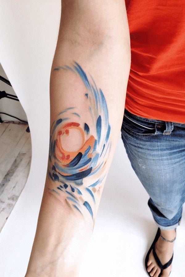 Watercolor tattoos 31