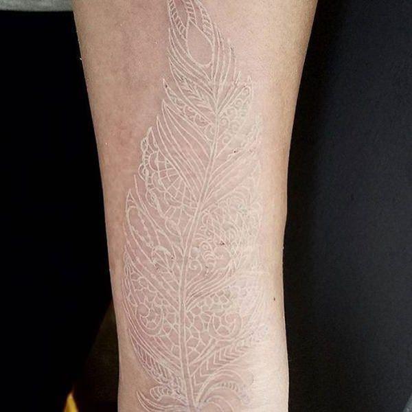 White ink tattoos 1503179