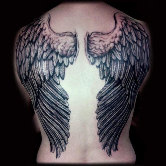Wings tattoo 12