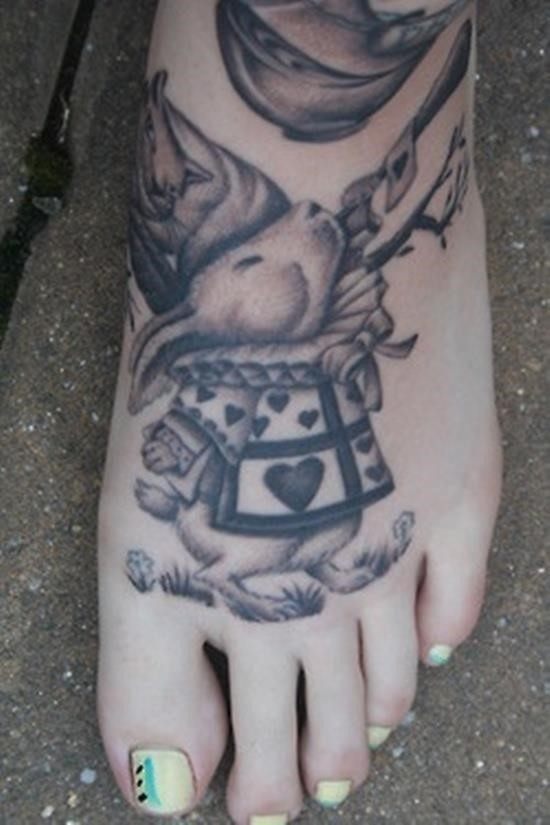 Wonderland tattoo 11