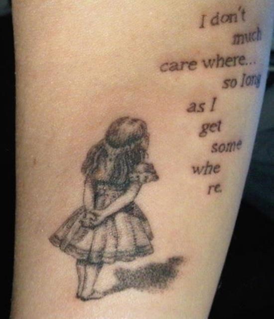 Wonderland tattoo 12