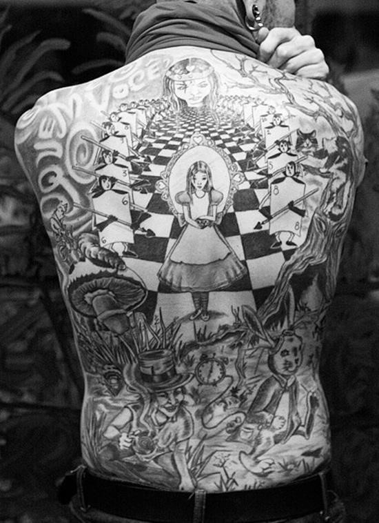Wonderland tattoo 13