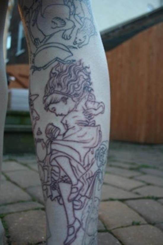 Wonderland tattoo 9