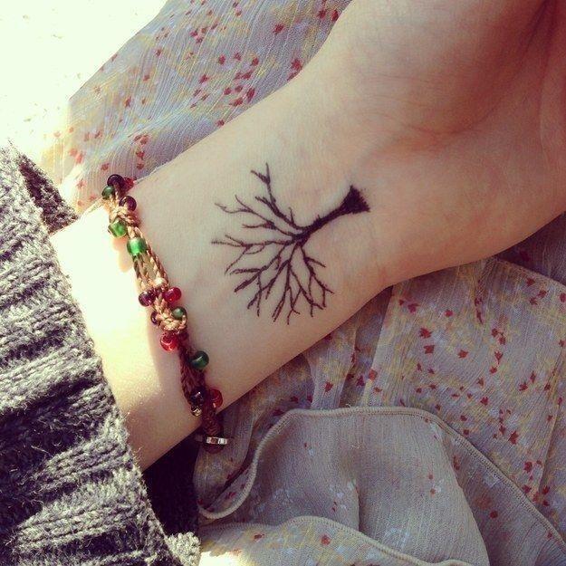 Wrist tattoo 001