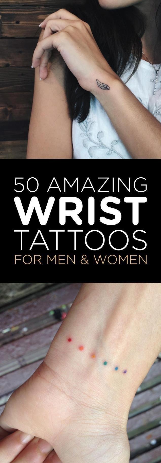 Wrist tattoo deisgns