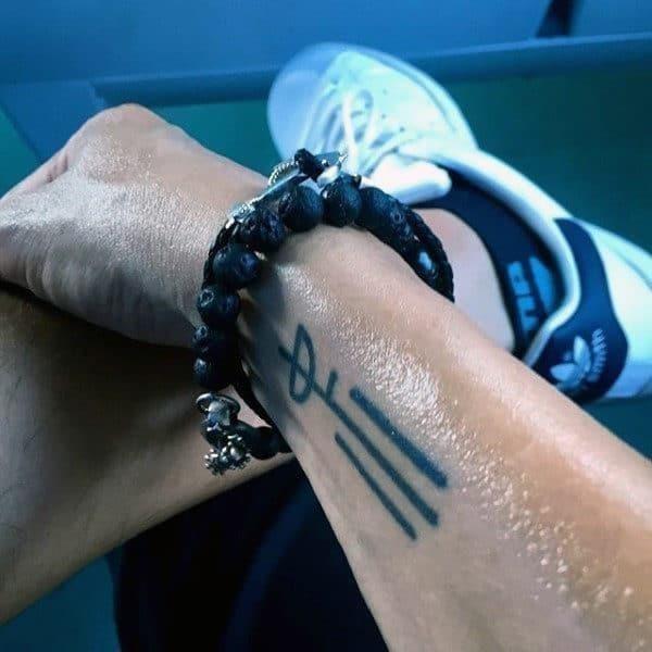 Wrist tattoos for men designs