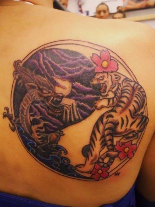 Yin yang tattoo 4