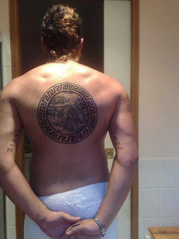 Zeus greek mythology tattoo 61406